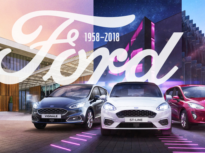 60 years Swiss Ford